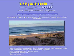 Ninety Mile Beach Escape